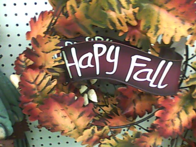 Hapy [sic] Fall