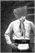 grey kitten as Jamie McCrimmon